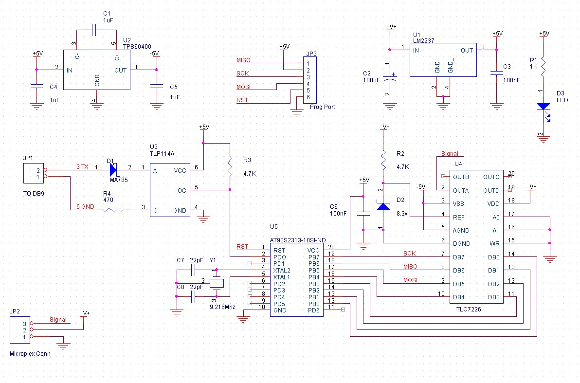 mplxsch microplex (mpx) interface by infidigm opto isolator wiring diagram at bakdesigns.co